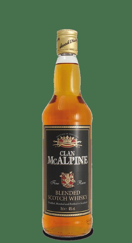 Blended Scotch Whisky Clan McAlpine
